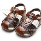 รองเท้ารันส้นหนัง-Hello-Panda-สีน้ำตาล-(6คู่/แพ็ค)