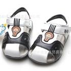 รองเท้ารันส้นหนัง-Hello-Panda-สีดำ-(6คู่/แพ็ค)