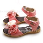 รองเท้าคุณหนูดอกไม้เพื่อนเจ้าสาว-สีชมพู(5คู่/แพ็ค)