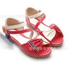 รองเท้าคุณหนูแฟชั่นนิสต้า-สีแดง-(5คู่/แพ็ค)