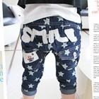 กางเกงยีนส์ลายดาว-SMILE-(5ตัว/pack)