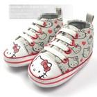 รองเท้าเด็กคิตตี้หัวใจสีแดง-(6-คู่/pack)