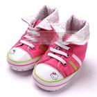 รองเท้าเด็กคิตตี้ใส่หมวก-(6-คู่/pack)
