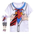 เสื้อยืดแขนสั้น-Superman-สีขาว-(6size/pack)