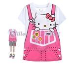 เสื้อยืดแขนสั้นลายเอี๊ยม-Hello-Kitty--(5size/pack)