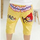 กางเกงขาสามส่วน-Angry-Shoort-สีเหลือง-(5ตัว/pack)