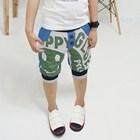 กางเกงขาสามส่วนลูกครึ่ง-SMILE-สีเขียว-(5ตัว/pack)
