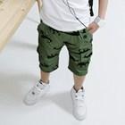 กางเกงขาสามส่วนจูลาสสิค-สีเขียว-(4ตัว/pack)