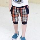กางเกงขาสามส่วนสก๊อตบอย-สีส้ม-(5ตัว/pack)