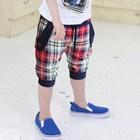 กางเกงขาสามส่วนสก๊อตบอย-สีแดง-(5ตัว/pack)