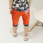 กางเกงขาสามส่วนรถแข่งจิ๋ว-สีส้ม-(5ตัว/pack)