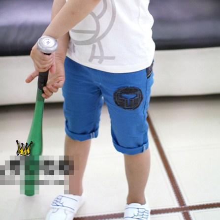 กางเกงขาสามส่วน T MILO สีน้ำเงิน (5ตัว/pack)