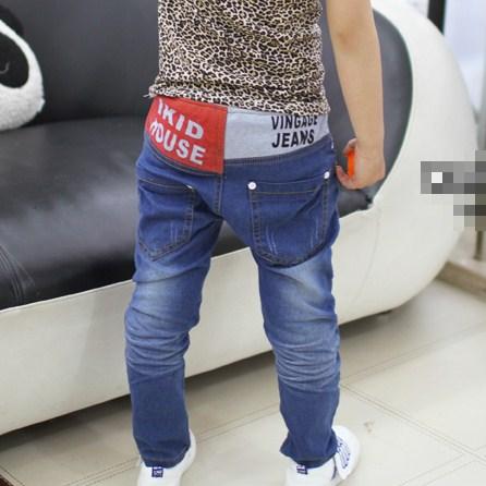 กางเกงยีนส์ขายาว IKID (6ตัว/pack)