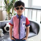 เสื้อเชิ้ตเด็กแนว-แบบที่-2-(5ตัว/pack)