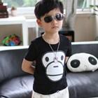 เสื้อยืดแขนสั้น-BIG-MILO-สีดำ-(5ตัว/pack)