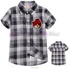เสื้อเชิ้ตหมากรุกหล่อๆ-Angry-Birds-สีดำ(5ตัว/pack)