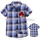 เสื้อเชิ้ตหมากรุกหล่อ-Angry-Birds-สีฟ้า(5ตัว/pack)