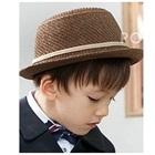 หมวกคุณชายสีน้ำตาลเข้ม--(10-ใบ/แพ็ค)