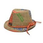 หมวกกระสอบสไตล์แจ๊ส-สีส้ม--(10-ใบ/แพ็ค)