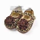 รองเท้าเด็กดอกไม้เสือดาว-(6-คู่/pack)