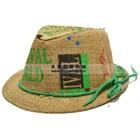 หมวกกระสอบสไตล์แจ๊ส-สีเขียว--(10-ใบ/แพ็ค)