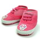 รองเท้าผ้าใบเด็ก-Red-Minnie-(6-คู่/pack)