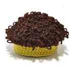 หมวกถักนิตติ้งผมหยิกฮิปฮอบสีเหลือง-(10-ใบ/แพ็ค)