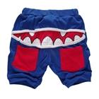กางเกงขาสั้นแดร๊กคูล่า-สีน้ำเงิน-(5ตัว/pack)