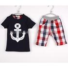 ชุดเสื้อกางเกง-Marine-Crew-สีกรมท่า-(5-ตัว/pack)