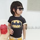 เสื้อแขนสั้น-BATMAN-KIDS-สีดำ-(5ตัว/pack)