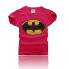 เสื้อแขนสั้น-BATMAN-KIDS-สีแดง-(5ตัว/pack)