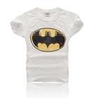 เสื้อแขนสั้น-BATMAN-KIDS-สีขาว-(5ตัว/pack)