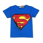 เสื้อแขนสั้น-SUPERMAN-ฮีโร่-สีน้ำเงิน-(5ตัว/pack)