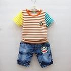ชุดเสื้อกางเกงยีนส์-Paul-สีส้ม--(6-ตัว/pack)