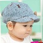 หมวกเบสบอล-Cat-Fish-สีฟ้า-(10-ใบ/แพ็ค)