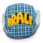หมวก-Ala-Lei-ลายสก็อตสีฟ้า-(10-ใบ/แพ็ค)