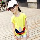 เสื้อยืดคอกลมแขนสั้น-Adidas-สีเหลือง-(5ตัว/pack)