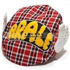 หมวก-Ala-Lei-ลายสก็อตสีแดง-(10-ใบ/แพ็ค)