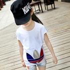 เสื้อยืดคอกลมแขนสั้น-Adidas-สีขาว-(5ตัว/pack)