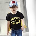 เสื้อยืดคอกลมพร้อมปีก-Batman-(5ตัว/pack)