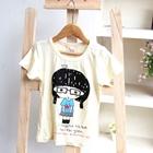 เสื้อยืดคอกลม-Cute-Girl-สีขาว-(5ตัว/pack)