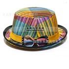 หมวกแฟนซีผูกโบว์-โทนสีเหลือง-(10-ใบ/แพ็ค)