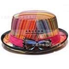 หมวกแฟนซีผูกโบว์-โทนสีชมพู-(10-ใบ/แพ็ค)