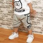 กางเกงขาสามส่วน-Boom_Art-สีเทา-(4size/pack)