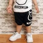กางเกงขาสามส่วน-Boom_Art-สีดำ-(4size/pack)