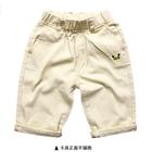 กางเกงขาสามส่วนแรคคูน-สีกากี-(5size/pack)