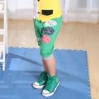 กางเกงขาสามส่วน-FOOTBALL-สีเขียว-(5size/pack)