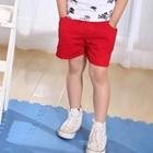 กางเกงขาสั้น-Surf-สีแดง-(5size/pack)