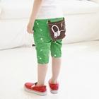 กางเกงสามส่วน-Music-Key-สีเขียว-(5ตัว/pack)