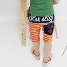กางเกงขาสามส่วน-Play-Comme-ลายส้ม-(5ตัว/pack)
